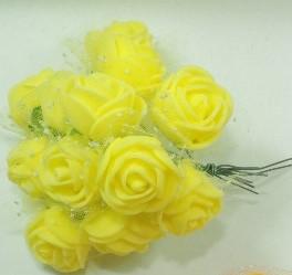 Flor-EVA- Amarelo