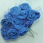 Flor-EVA- Azul